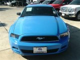 2013 Grabber Blue Ford Mustang V6 Coupe #88059253