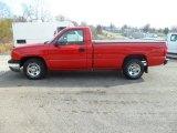 2003 Victory Red Chevrolet Silverado 1500 LS Regular Cab #88059772