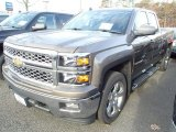 2014 Brownstone Metallic Chevrolet Silverado 1500 LT Double Cab 4x4 #88059157