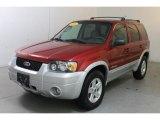 2006 Redfire Metallic Ford Escape Hybrid 4WD #88059130
