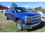 2014 Blue Topaz Metallic Chevrolet Silverado 1500 LT Crew Cab 4x4 #88059662
