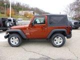 2014 Jeep Wrangler Copperhead