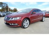 Fortana Red Metallic Volkswagen CC in 2014