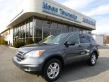 2011 Polished Metal Metallic Honda CR-V EX 4WD #88104100