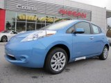 2013 Blue Ocean Nissan LEAF S #88104272