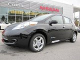 2013 Super Black Nissan LEAF SV #88104271