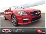 2014 Mars Red Mercedes-Benz SLK 55 AMG Roadster #88103905