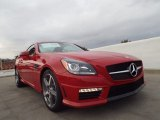 2014 Mercedes-Benz SLK 55 AMG Roadster Front 3/4 View