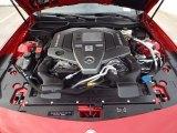 2014 Mercedes-Benz SLK 55 AMG Roadster 5.5 Liter AMG GDI DOHC 32-Valve VVT V8 Engine