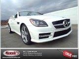 2014 Polar White Mercedes-Benz SLK 250 Roadster #88103904