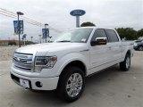 2014 White Platinum Ford F150 Platinum SuperCrew 4x4 #88103715