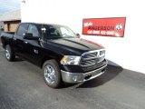 2014 Black Ram 1500 Big Horn Crew Cab 4x4 #88104762