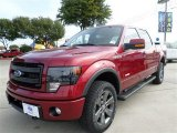 2013 Ruby Red Metallic Ford F150 FX4 SuperCrew 4x4 #88103695