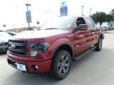 2013 Ruby Red Metallic Ford F150 FX4 SuperCrew 4x4 #88103692