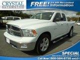 2010 Stone White Dodge Ram 1500 Big Horn Quad Cab #88104583