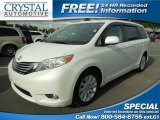 2011 Blizzard White Pearl Toyota Sienna Limited #88104575