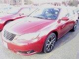 2014 Deep Cherry Red Crystal Pearl Chrysler 200 Limited Sedan #88103527