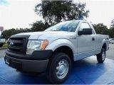 2014 Ingot Silver Ford F150 XL Regular Cab 4x4 #88103839