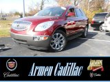 2011 Red Jewel Tintcoat Buick Enclave CXL AWD #88103516