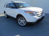 2014 White Platinum Ford Explorer XLT #88104181