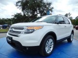 2014 White Platinum Ford Explorer XLT #88103826