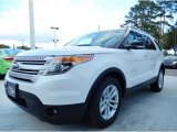 2014 White Platinum Ford Explorer XLT #88103824