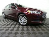 2013 Ruby Red Metallic Ford Fusion SE #88104401