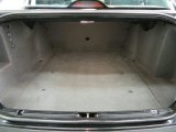 2000 BMW 5 Series 528i Sedan Trunk
