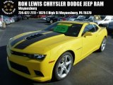 2014 Bright Yellow Chevrolet Camaro SS Coupe #88104169