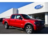 2014 Ruby Red Ford F150 FX4 SuperCrew 4x4 #88104001