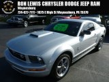 2005 Satin Silver Metallic Ford Mustang V6 Premium Coupe #88104165