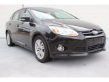 2012 Black Ford Focus SEL Sedan #88104667