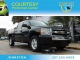 2007 Black Chevrolet Silverado 1500 LT Crew Cab 4x4 #88103796