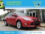 2012 Red Candy Metallic Ford Focus SE Sport Sedan #88103795