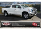 2014 Super White Toyota Tundra SR5 Double Cab 4x4 #88103465