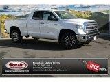2014 Super White Toyota Tundra SR5 TRD Double Cab 4x4 #88103463