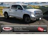 2014 Super White Toyota Tundra SR5 TRD Crewmax 4x4 #88103462