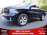 2014 True Blue Pearl Coat Ram 1500 Express Regular Cab #88103975