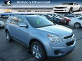 2014 Silver Topaz Metallic Chevrolet Equinox LT AWD #88104658