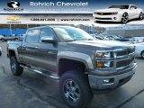 2014 Brownstone Metallic Chevrolet Silverado 1500 LT Crew Cab 4x4 #88104651