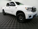 2007 Super White Toyota Tundra Limited CrewMax 4x4 #88104358