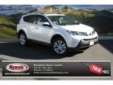 2013 Blizzard White Pearl Toyota RAV4 Limited AWD #88103441