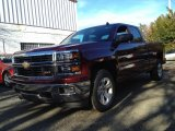2014 Deep Ruby Metallic Chevrolet Silverado 1500 LT Double Cab 4x4 #88103948