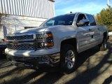 2014 White Diamond Tricoat Chevrolet Silverado 1500 LTZ Crew Cab 4x4 #88103946