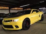 2014 Bright Yellow Chevrolet Camaro SS Coupe #88103933