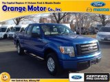 2012 Blue Flame Metallic Ford F150 STX SuperCab #88104118