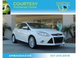 2012 Oxford White Ford Focus SEL 5-Door #88104457