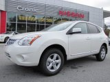 2013 Pearl White Nissan Rogue S #88104278