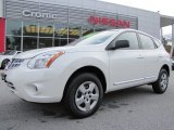 2013 Pearl White Nissan Rogue S #88104277