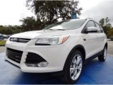2014 White Platinum Ford Escape Titanium 2.0L EcoBoost #88192475